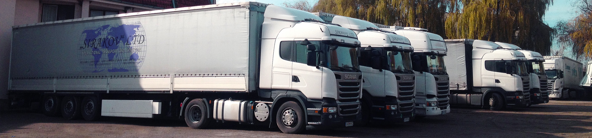 SirakovTrans - International transport and forwarding. TIR parking.